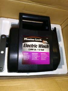 MASTER LOCK 12 VOLT ELECTRIC VEHICLE WINCH