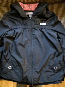 Girl's hooded spring jacket