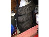 Mercedes snow tyres