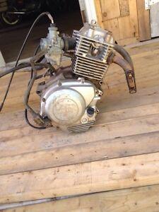 Ttr125 motor