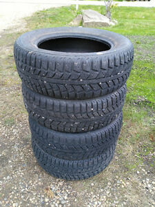 Ice & Snow Tires, used $300 (OBO) set of 4 (Morinville)