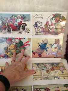 Antique Teddy Bear Postcards & Teddy Bear Paper Doll Gift Wrap London Ontario image 3