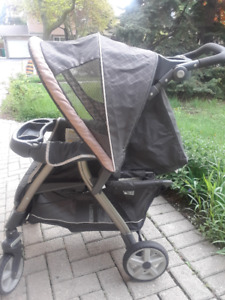 Baby stroller and high chair