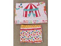 Kids Bedroom Bundle of Circus Parade - Curtains, Bedding