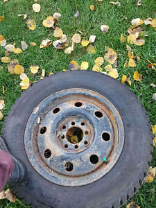 Winter tires on rims for sale. Prince George British Columbia image 2
