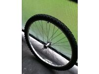 26 INCH FRONT WHEEL AND TYRE