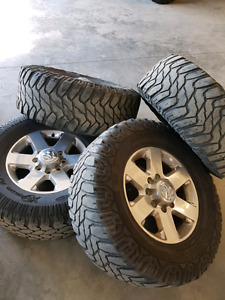 """Stock ram 3500/2500 rims and 35"""" tires"""