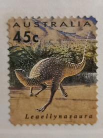 Australian 1993 Pre-historic Animal Stamps