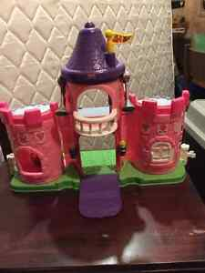 Fisher Price Castle, Pink Kitchener / Waterloo Kitchener Area image 1