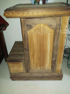 3 piece Beautiful Teak coffee/end tables