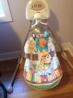 Balancoire pour bebe Fisher Price