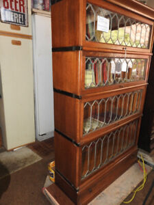 several antique barrister bookcases (restored) Part TWO
