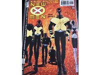 New X Men 114 signed by Grant Morrison and Frank Quitley