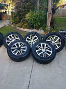 Genuine Toyota SR5 Tyres and Rims Waterford West Logan Area Preview