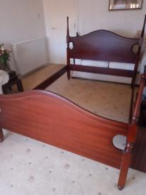 Mahogany Bed Surround