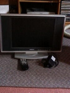 Sold  Small TV with remote