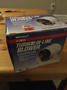 Atwood Turbo In-Line Blower