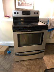 Glasstop Stove For Sale