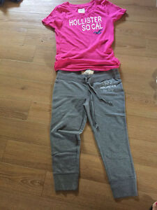3/4 pantalon hollister médium neuf