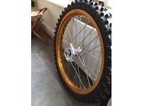 Suzuki RM 85 19inch front wheel