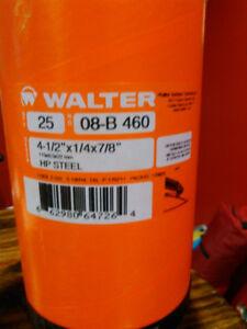 Walter grinder discs (25pc) 08-B 460