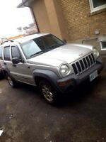 ready to go Certified and mission tested Jeep liberty sport 4X4
