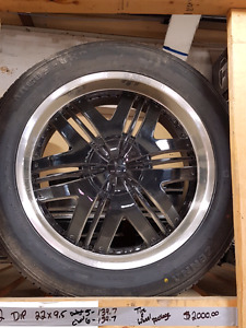 DIP WHEEL 22X9 5-139.7 6-139.7 Tire&Wheel package