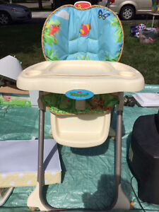 Fisher price rainforest high chair Stratford Kitchener Area image 1