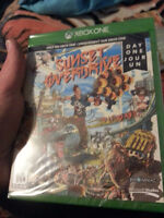 """Sealed Day-One Edition of """"Sunset Overdrive"""" for Xbox One"""