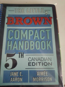 The Little, Brown Compact Handbook, Fifth Canadian Edition (5th