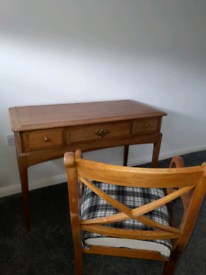 Oak French Dresser and chair