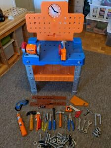 Toy Workbench & Tools