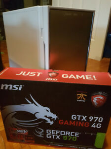 PC GAMER i7 (12 CPUS) 12 X 3.8 GHZ + SSD + GTX 970 4GB + 16GB