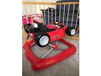 Baby walker formula 1 car