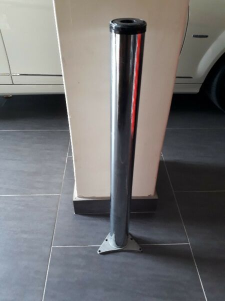 Table Leg Chrome