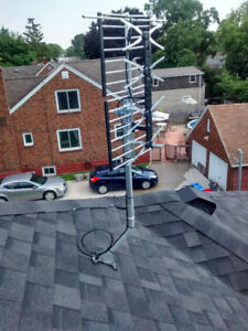 TV Antenna System Outdoor Digital 50+ HD channels