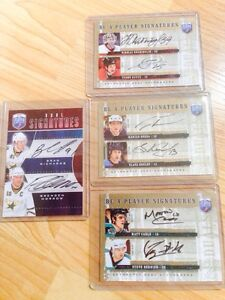 Duel Autographed Hockey Cards !
