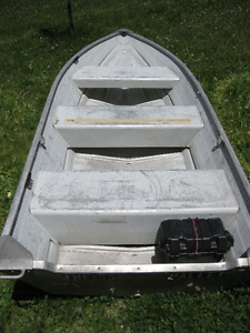Three 12' Aluminum Boats & Five 14' Aluminum Boats