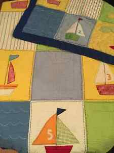 Twin Sized Sailboat Bedding & Rug St. John's Newfoundland image 1