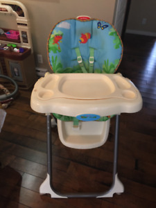 Chaise haute Fisher-Price
