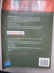 BOOK BUSINESS ESSENTIALS FIFTH CANADIAN EDITION West Island Greater Montréal image 2