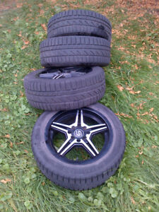 Small car winter tires and wheels