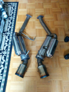 350Z / G35 HKS Rep Exhaust + X Pipe