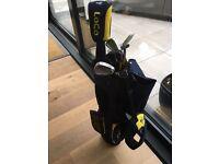 Junior Dunlop golf set 5 clubs with bag