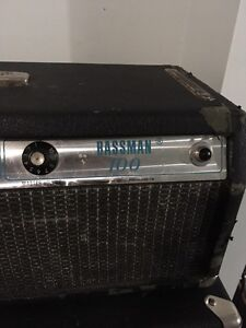 Early 70s Fender Bassman 100 head with cab  Cambridge Kitchener Area image 4