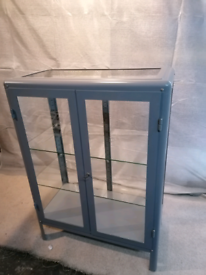 Ikea glass display cabinet
