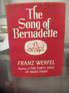 Vintage Book 1944 The Song Of Bernadette by franz werfel