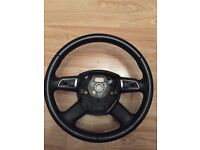 Genuine Audi Multifunction Steering Wheel (mfsw) part number 8P0419689A