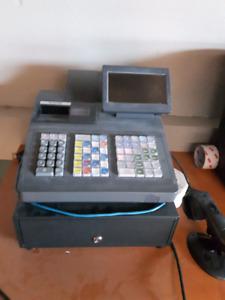 SHARP UP-820N Cash Register with Barcode Scanner