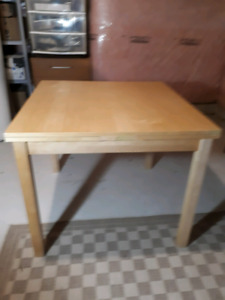 Expandable Ikea dining table